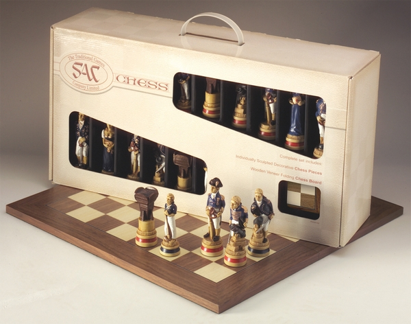 Presentation Case Theme Chess Sets